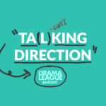 Talking Direction logo in green with handwritten circles and arrows